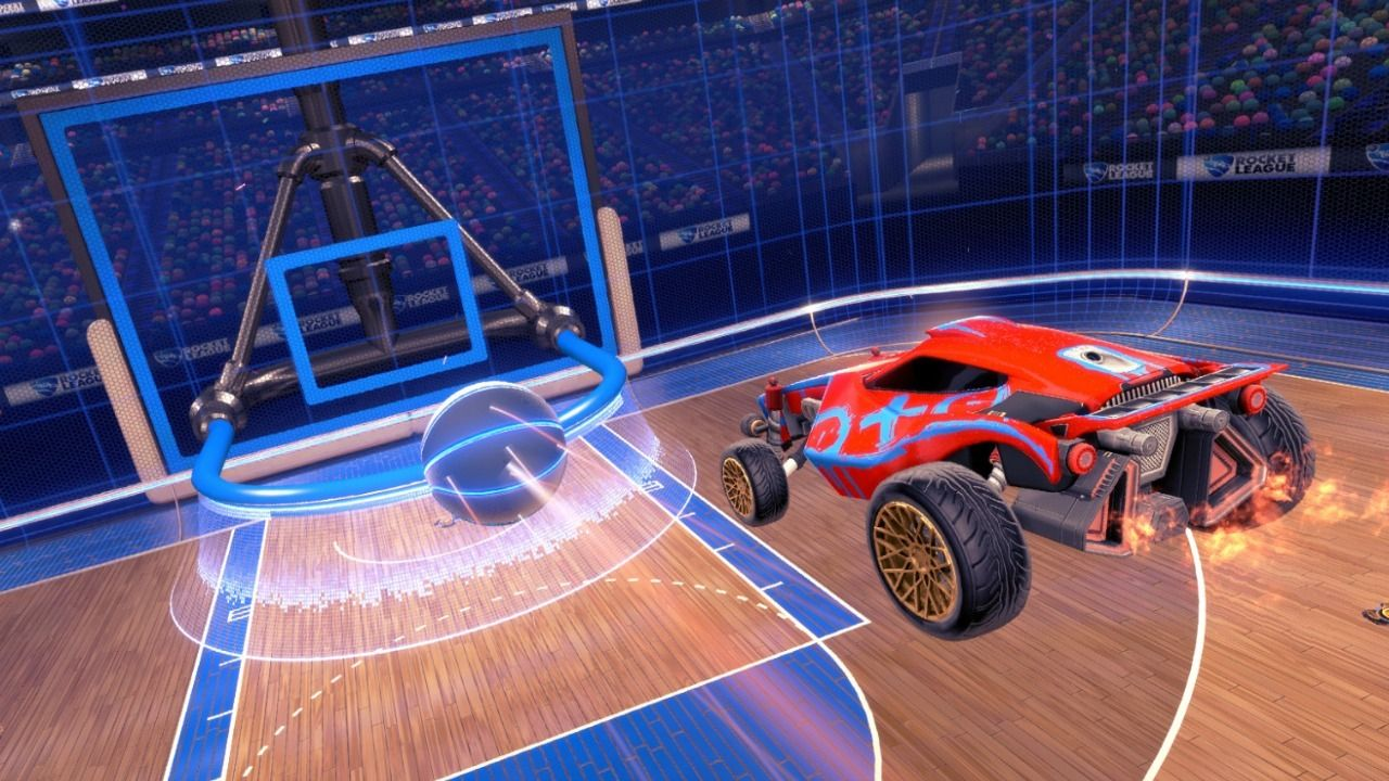 Rocket League Basketball Mode Coming Next Week with