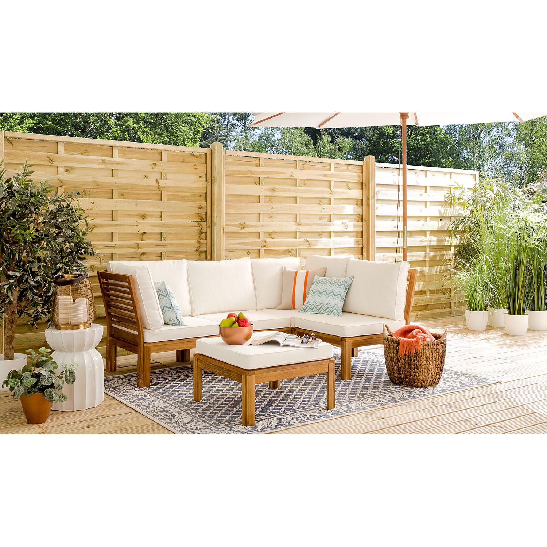 Deinen Garten günstig und schick mit Loungemöbeln von Ars Natura einrichten #smallbalconyfurniture