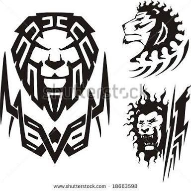 Resultado de imagem para maori com mandala stencil