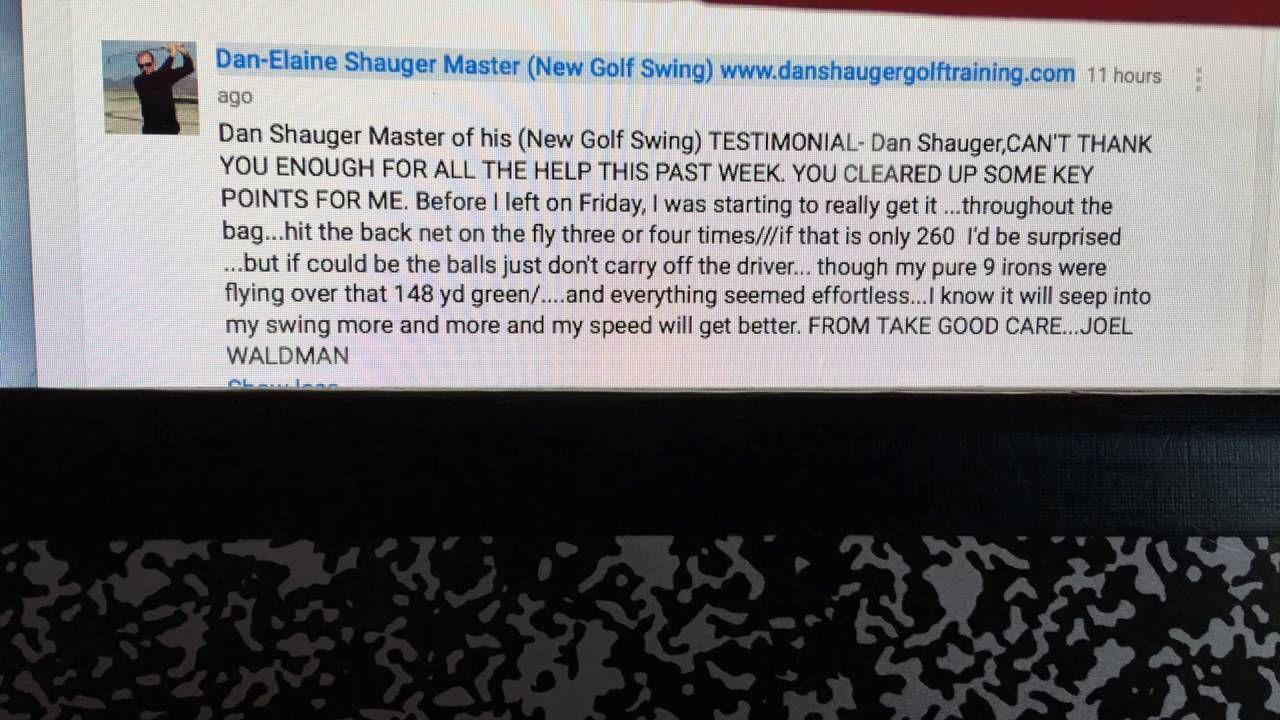 Dan Shauger Master of his (New Golf Swing) The 16 Different Foreign Lang...