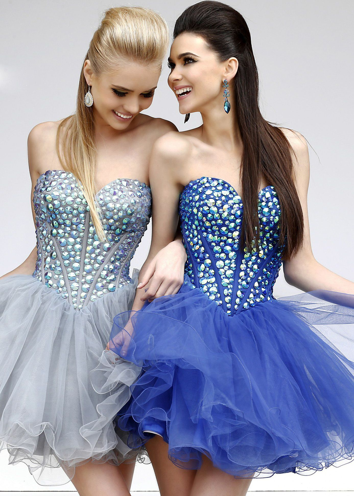 Royal Blue Bat Mitzvah Dress