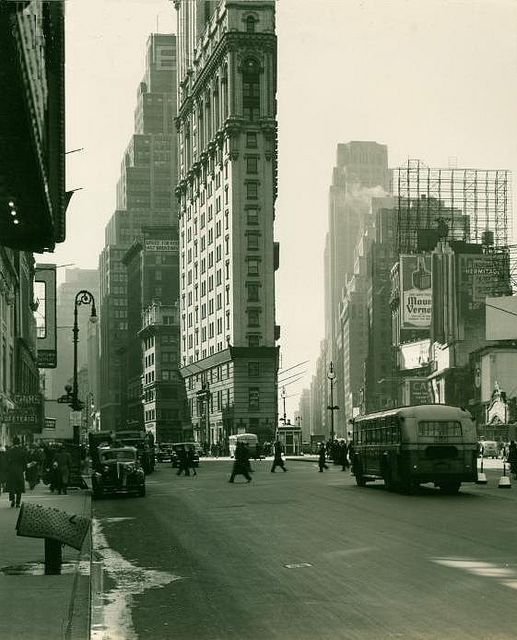 Times Square NYC 1940
