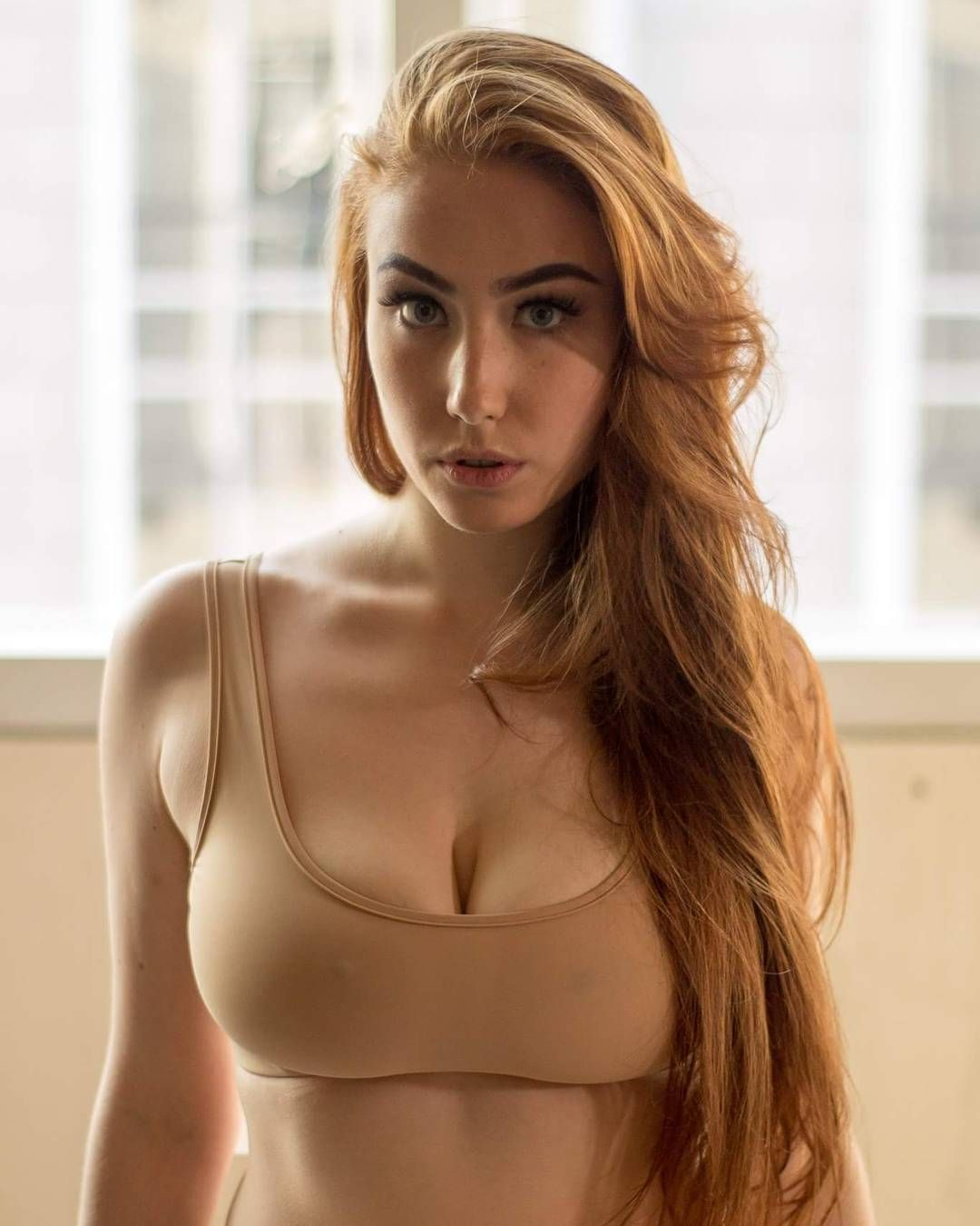 Images - Busty girls in tight tank tops
