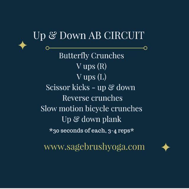 An Abdominal circuit