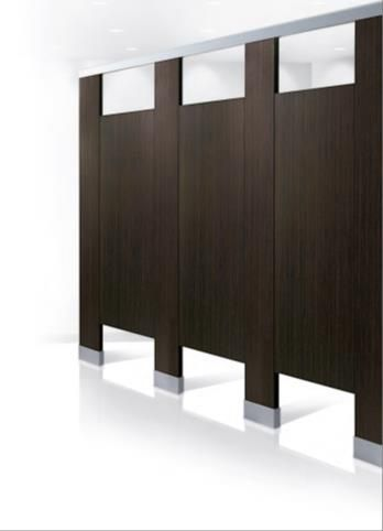 Bobrick Bathroom Partitions Property bobrick introduces new line of high pressure laminate restroom