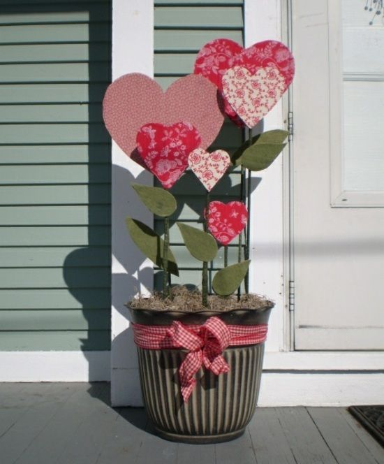 Blumen Zum  Valentinstag Geschenkidee Selber Machen