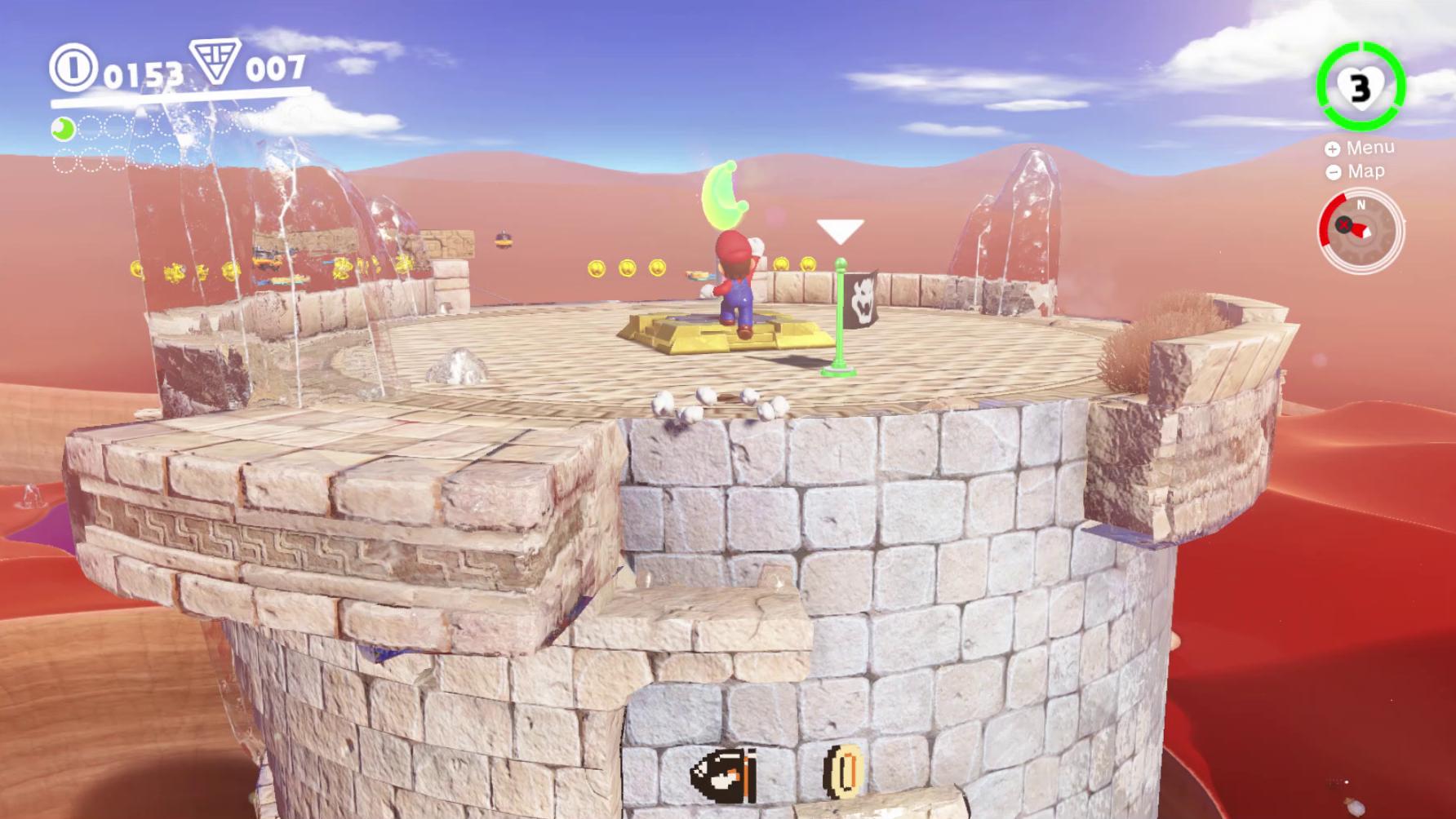Super Mario Odyssey Guide Sand Kingdom All Power Moon Locations