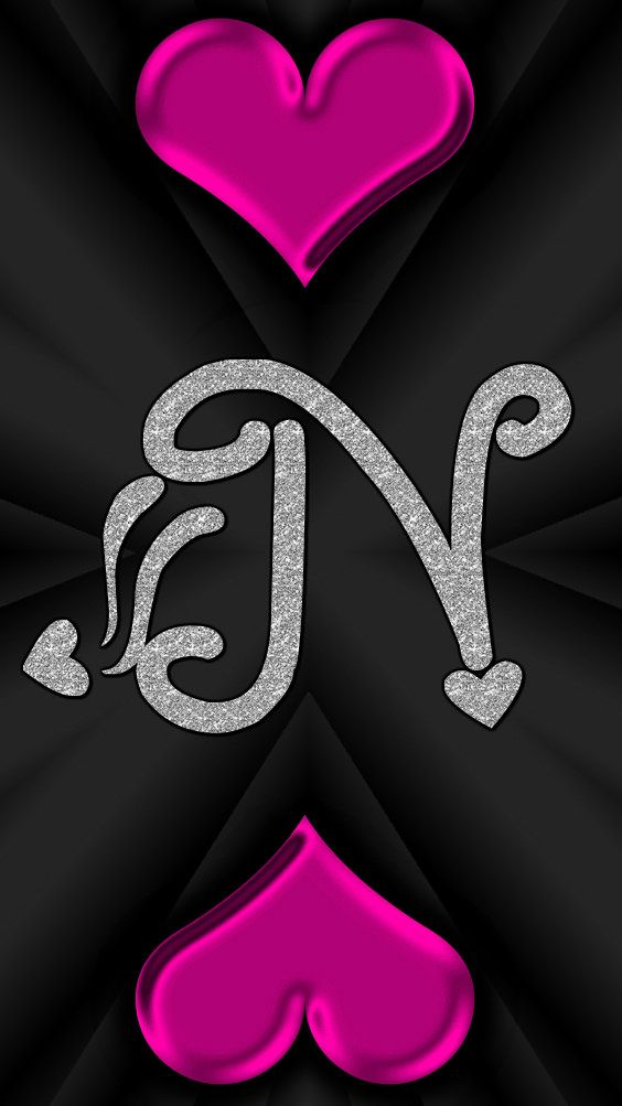 N By Gizzzi Stylish Alphabets Alphabet Wallpaper Alphabet Images
