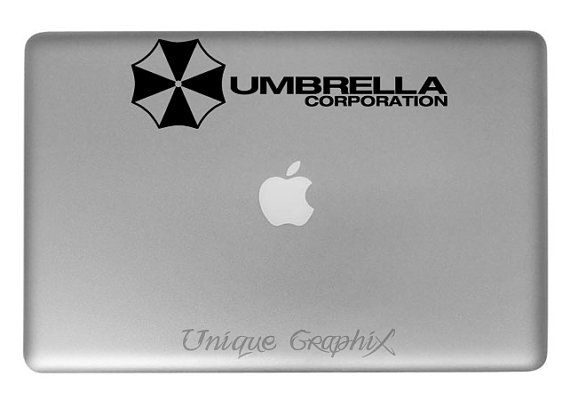 Resident evil umbrella corporation vinyl decal by uniquegraphix 6 00