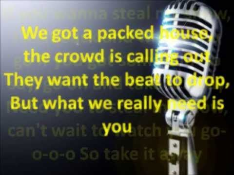 Steal My Show By Tobymac Lyrics Youtube Lyrics Love The