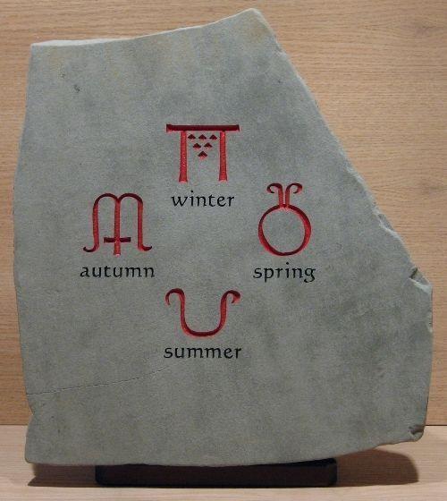 Ancient Symbols For Seasons Four Looooooooooooves Four Seasons