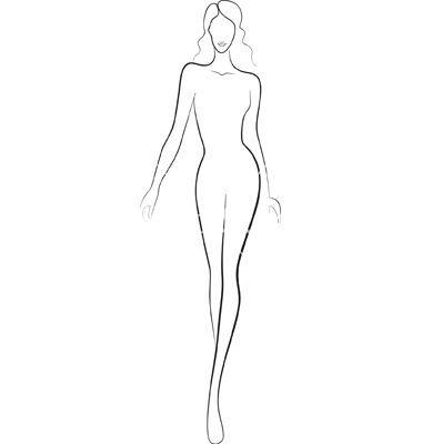 Fashion Templates Fashion silhouette templates … … | Pinteres…