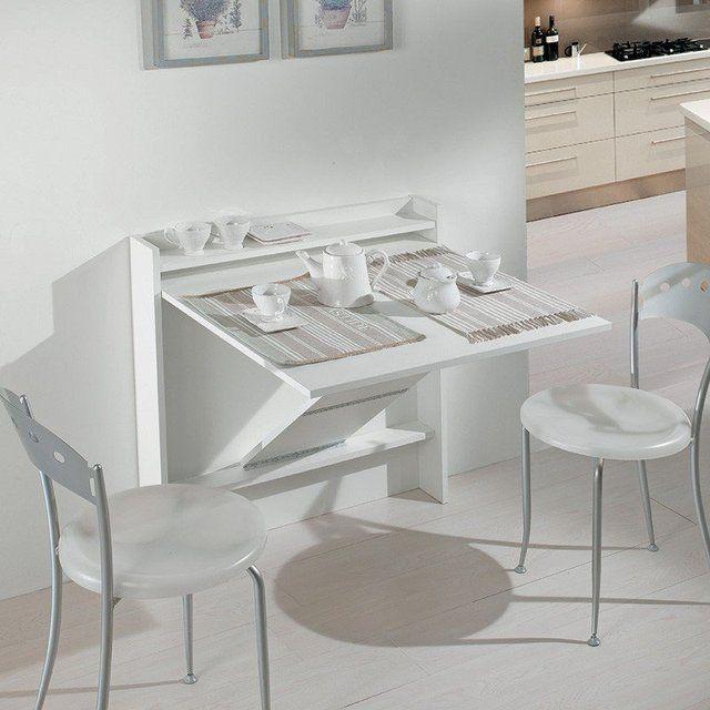 living console folding table apartment stuff meuble. Black Bedroom Furniture Sets. Home Design Ideas