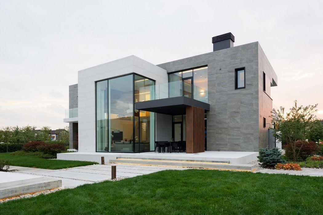 De 70 fotos de fachadas de casas minimalistas fachadas for Design minimalista