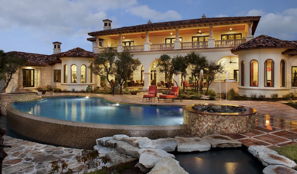 Mediterranean Exterior Design, Pictures, Remodel, Decor and Ideas - page 5