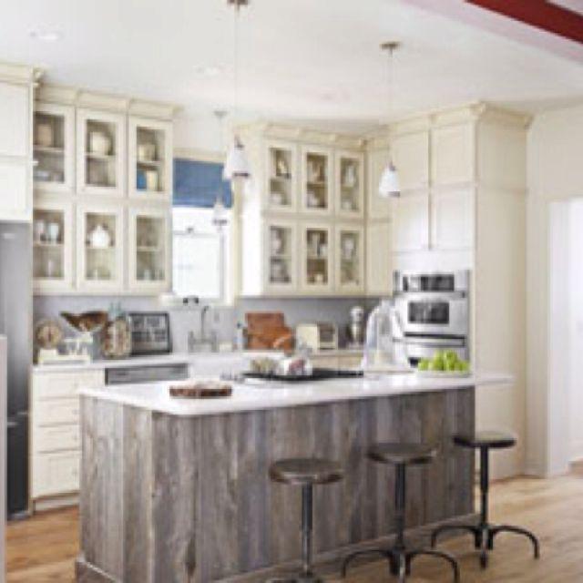 Kitchen Island Wood Kitchen Island Cottage Kitchens Wood Kitchen