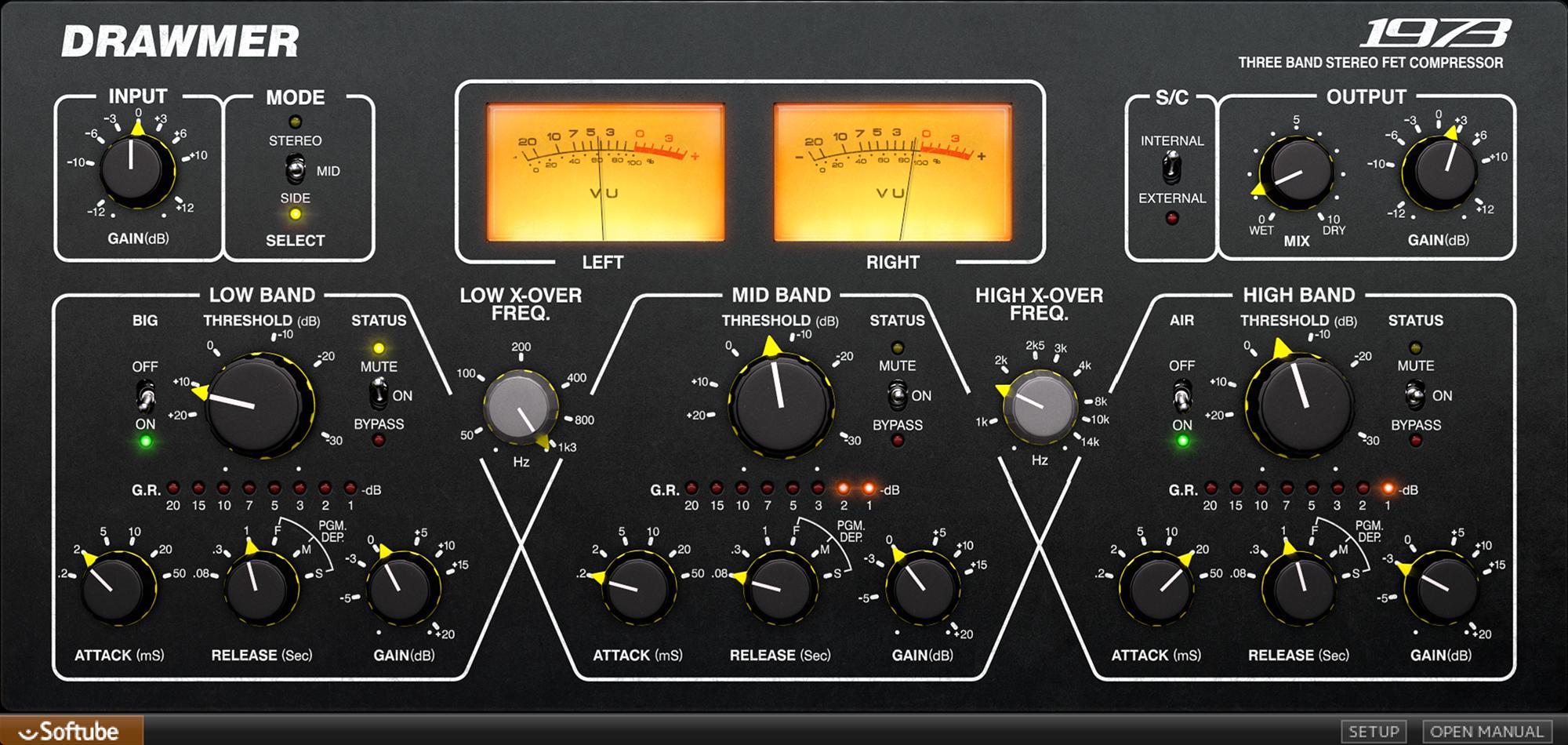 Drawmer 1973 Multi Band Compressor Music Mixing Music Software Music