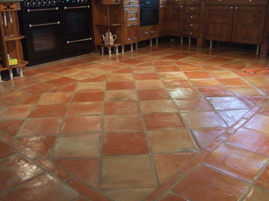 Terracotta Floor Tile Be Equipped Kitchen Tile Ideas Be