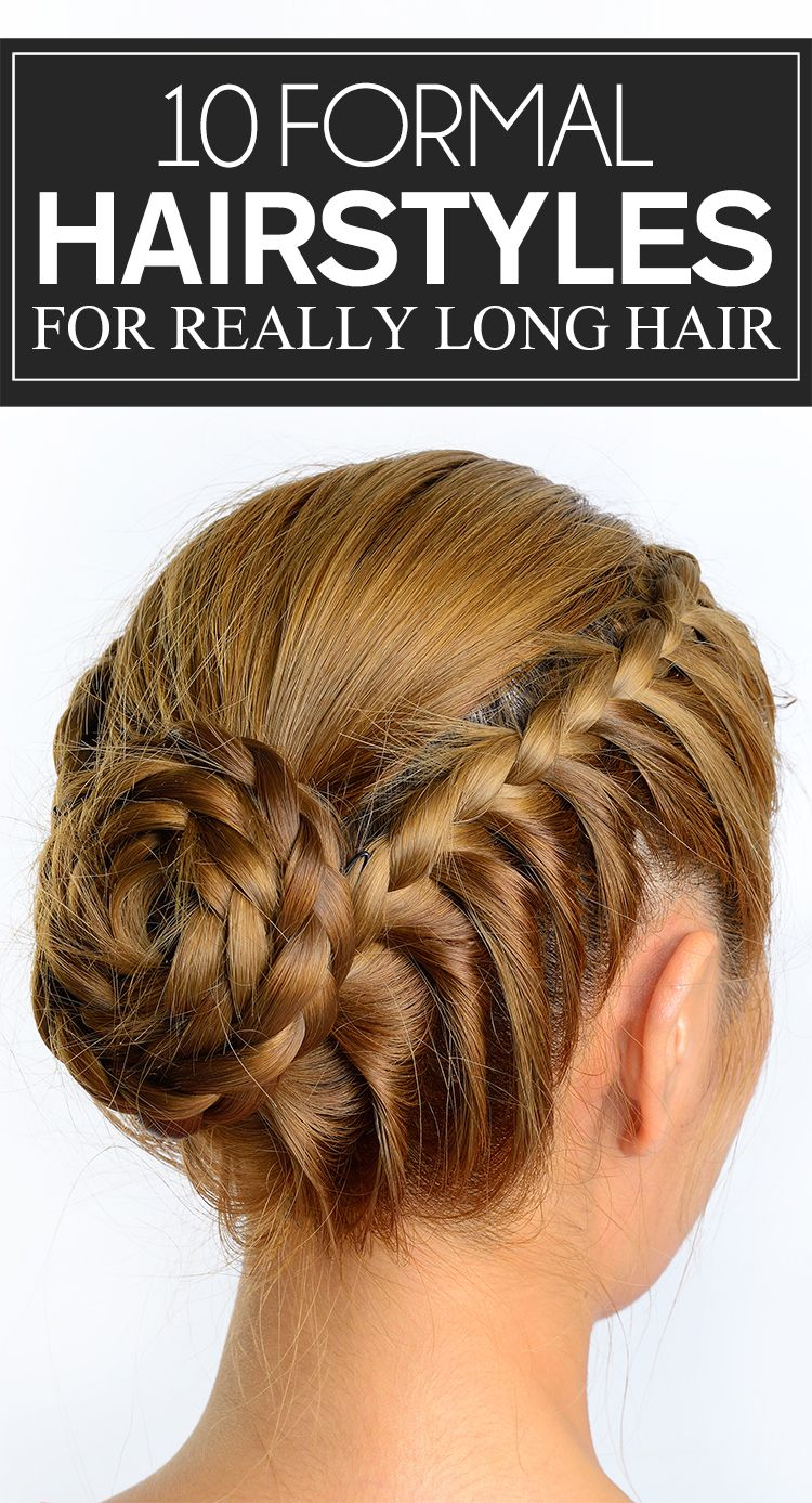 formal hairstyles for really long hair formal hairstyles