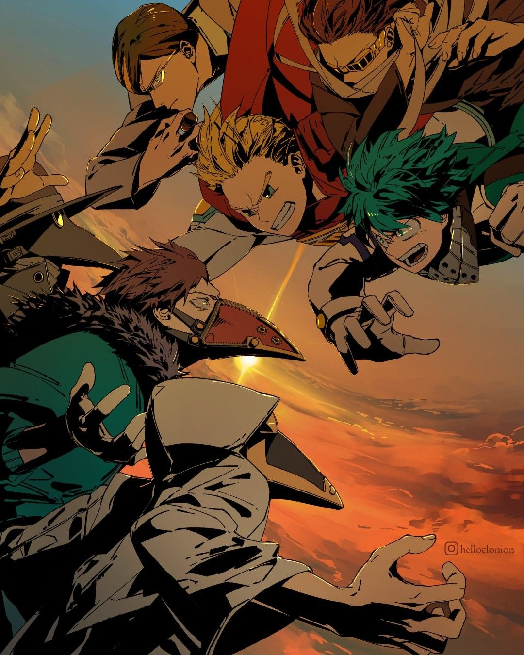 "Hero Vs Shie Hassaikai Helloclonion Hero Wallpaper My Hero Boku No Hero Academia Zobacz wybrane przez nas produkty dla hasła ""shie hassaikai: my hero boku no hero academia"