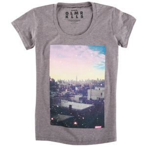 GLMR KLLS New Perspective T-Shirt - Women's - Skate - Clothing - Cool Grey