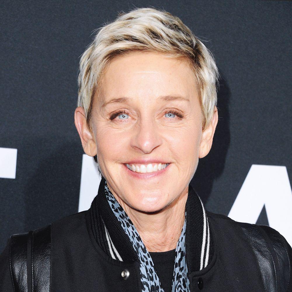 Ellen Degeneres Changing Looks Ellen Degeneres Haircut Ellen Degeneres And Portia Ellen Degeneres