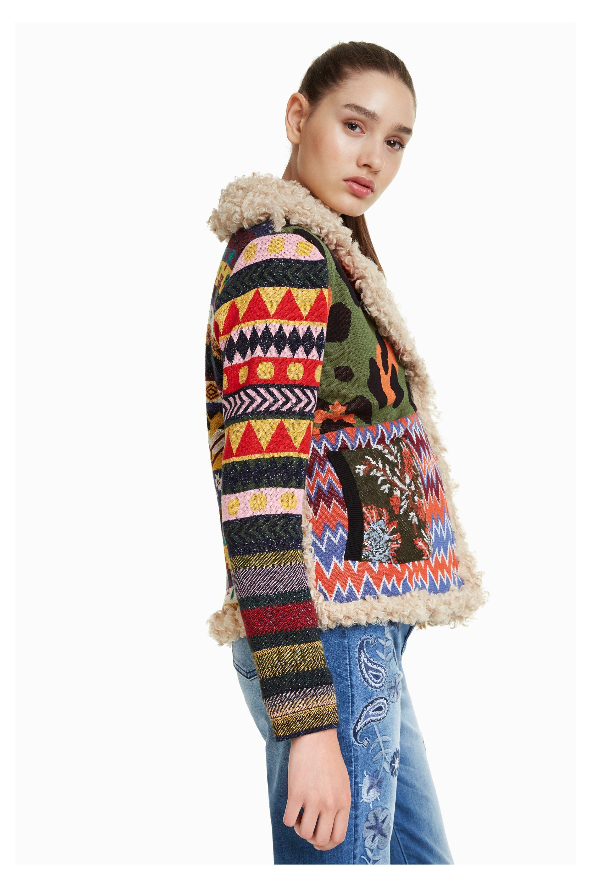 Desigual SPARROW jacket. Fall-Winter 2018 collection. Now at Angel, located  in Vancouver, Canada, 55bf2ae36b66