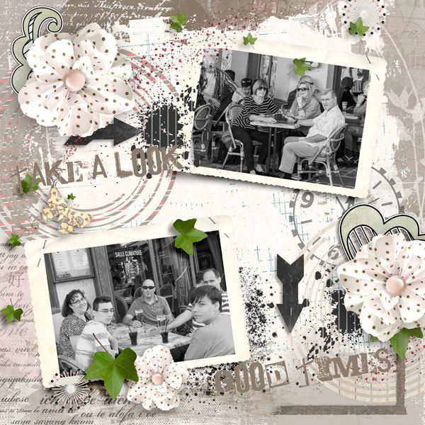 Forever Friends Page Kit #thestudio #digitalscrapbooking