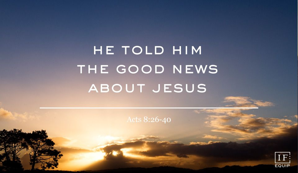 Image result for acts 8:26-40