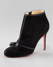 f2680d8b341 Christian Louboutin. Christian Louboutin Suede Ankle Boots ...