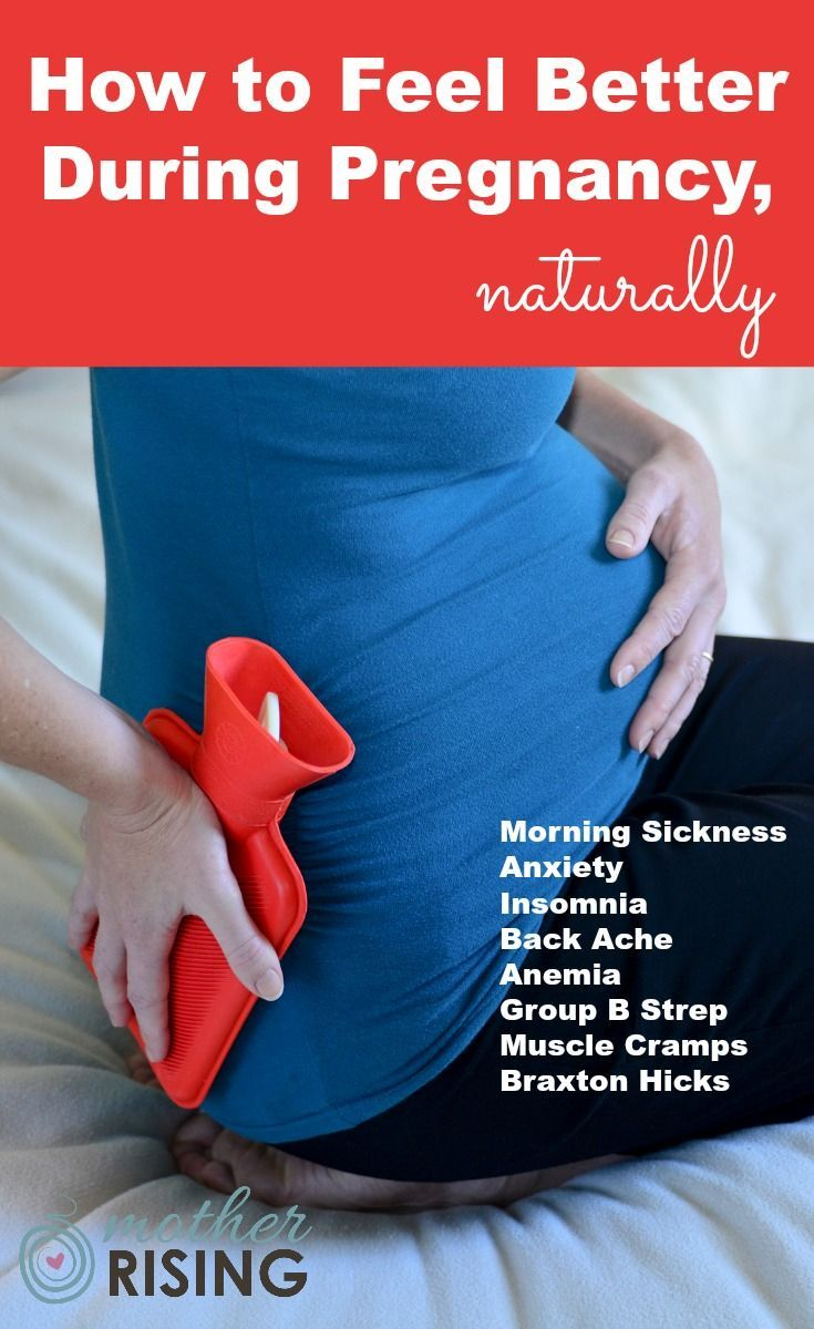 Natural anxiety remedies during pregnancy