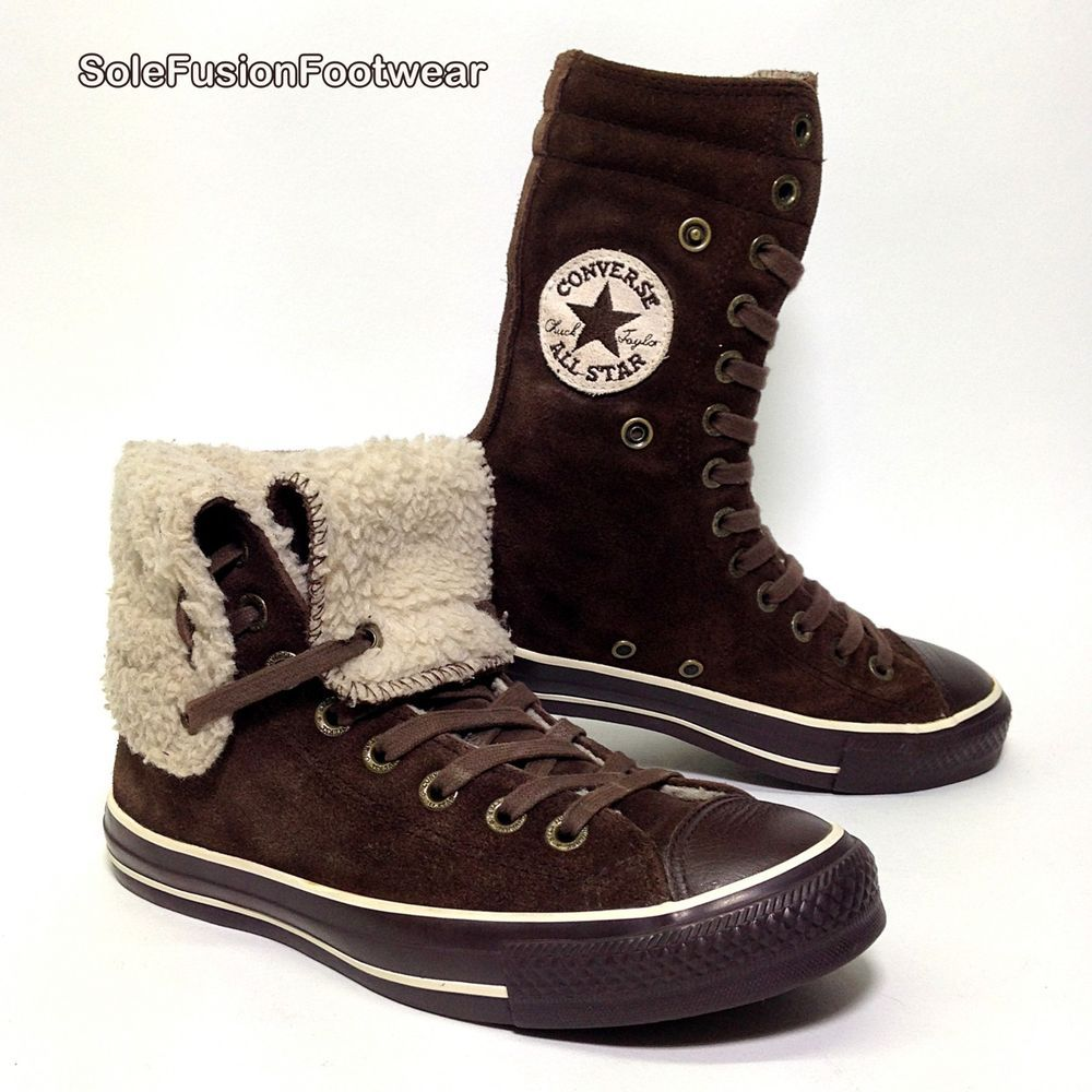 Converse Womens All Star Suede Trainers