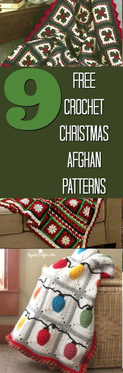 Christmas Afghan Patterns | Tejido