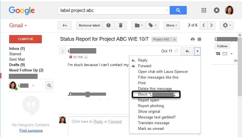 How To Change or Modify Existing Spam Settings in Gmail