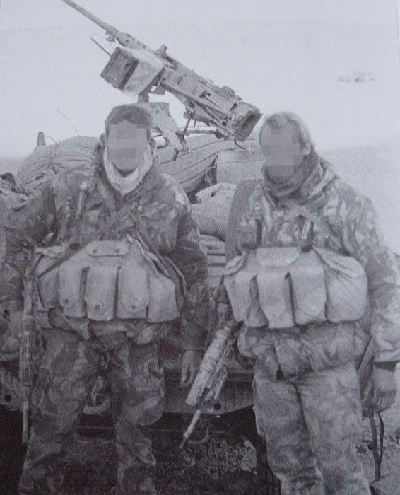 OP Granby (Iraq) - 22 SAS soldiers from A Sqn behind the lines in Iraq conducting surveillance and direct action tasks.
