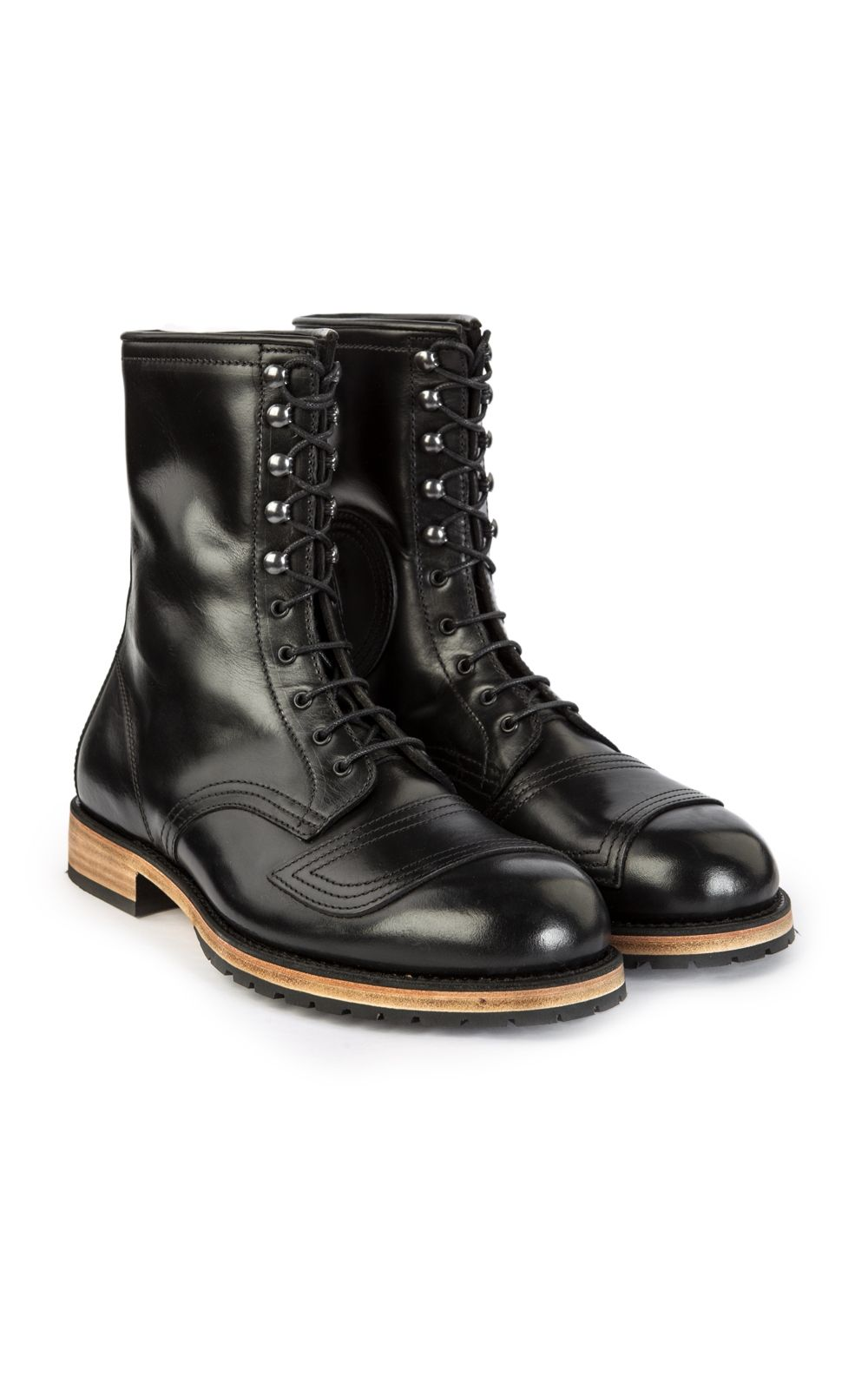 bcdca25cc9f55 Pike Brothers 1966 Explorer Boots Black   Footwear -Boots   Boots ...