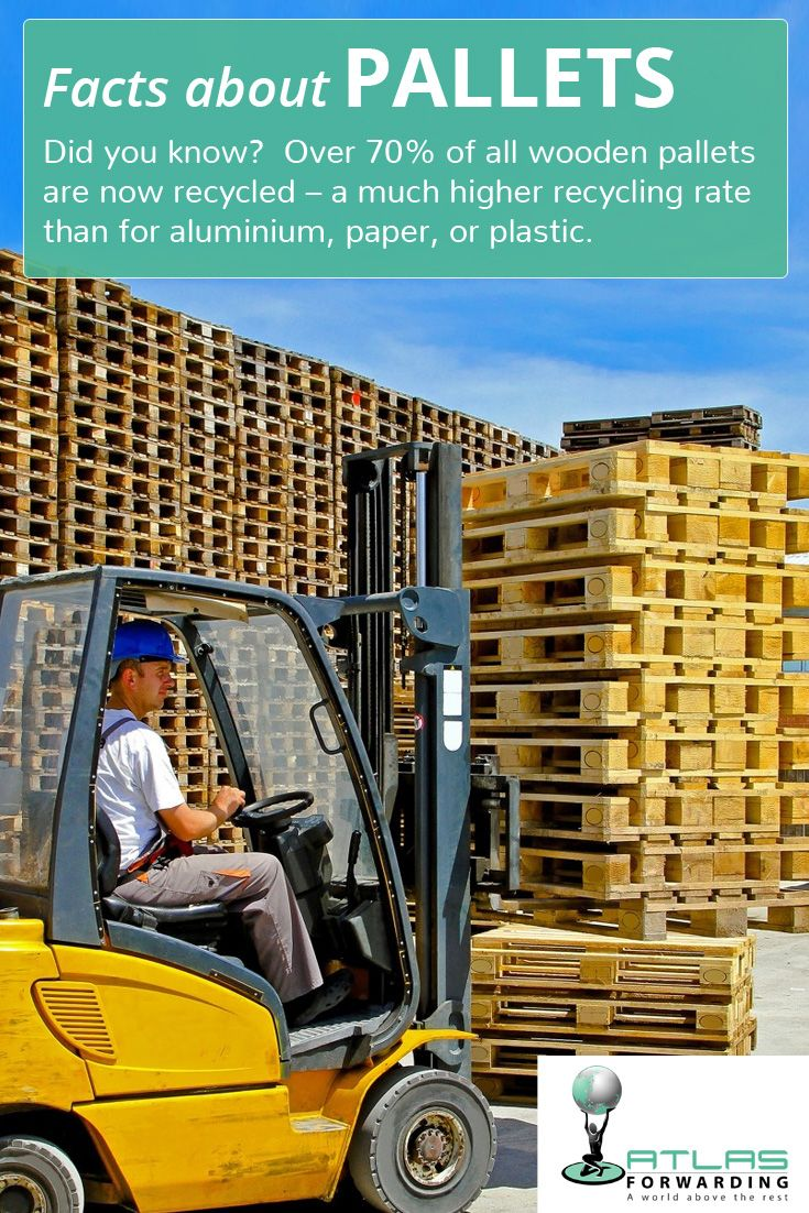 Facts about Pallets Did you know? Over 70 of all wooden