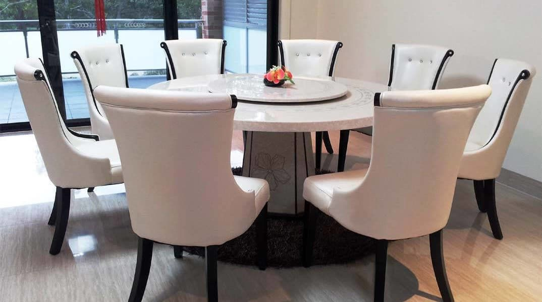 Marble Dining Table Design Ideas Cost And Tips Round Dining Room Table Round Marble Dining Table Marble Top Dining Table