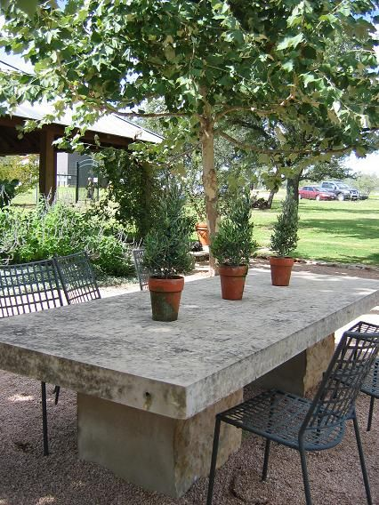 Limestone Table Round Outdoor Dining Table Outdoor Dinning