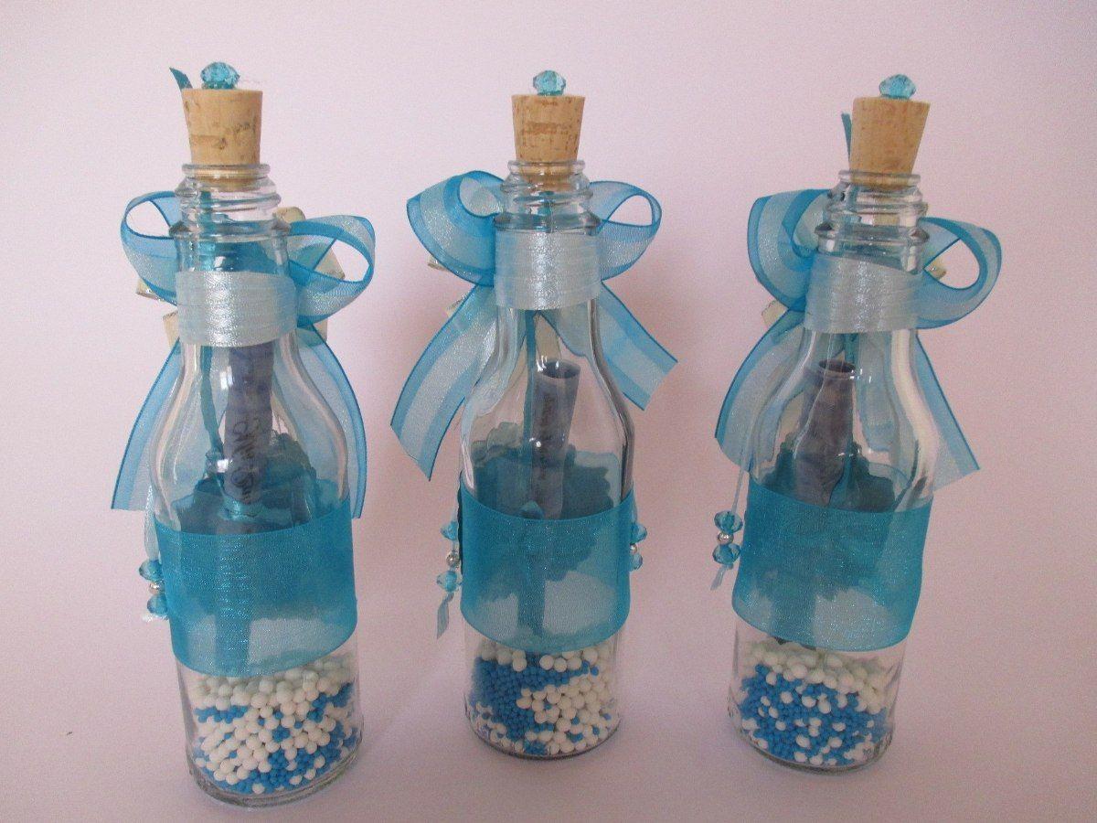 botella invitacion boda aos bautizo comu