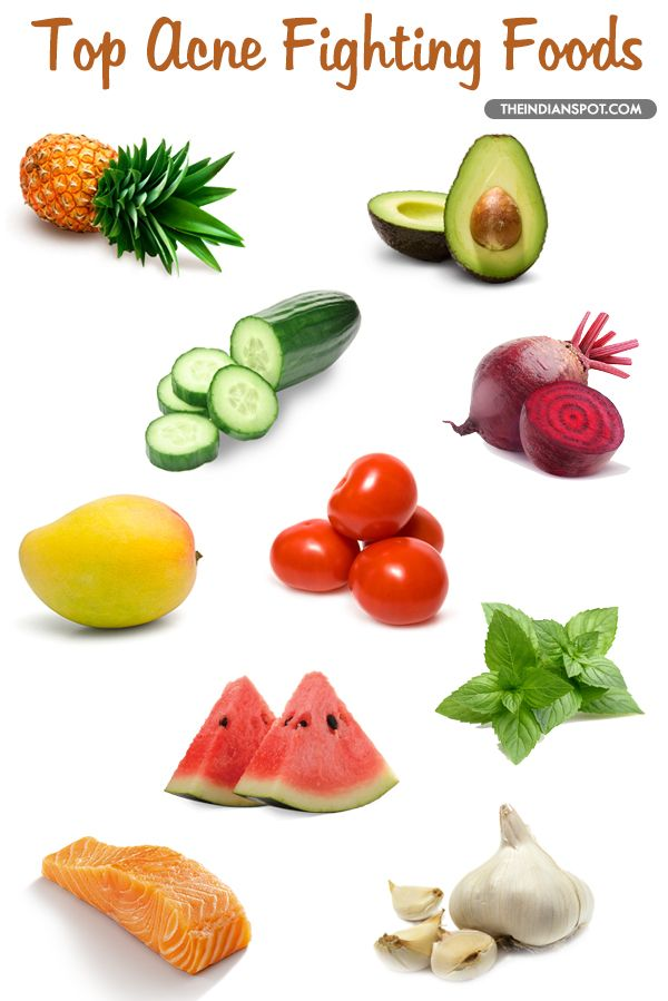 Best Foods For Acne Foods That Prevent Pimples And Irritated Skin Bodies Pimple And Food