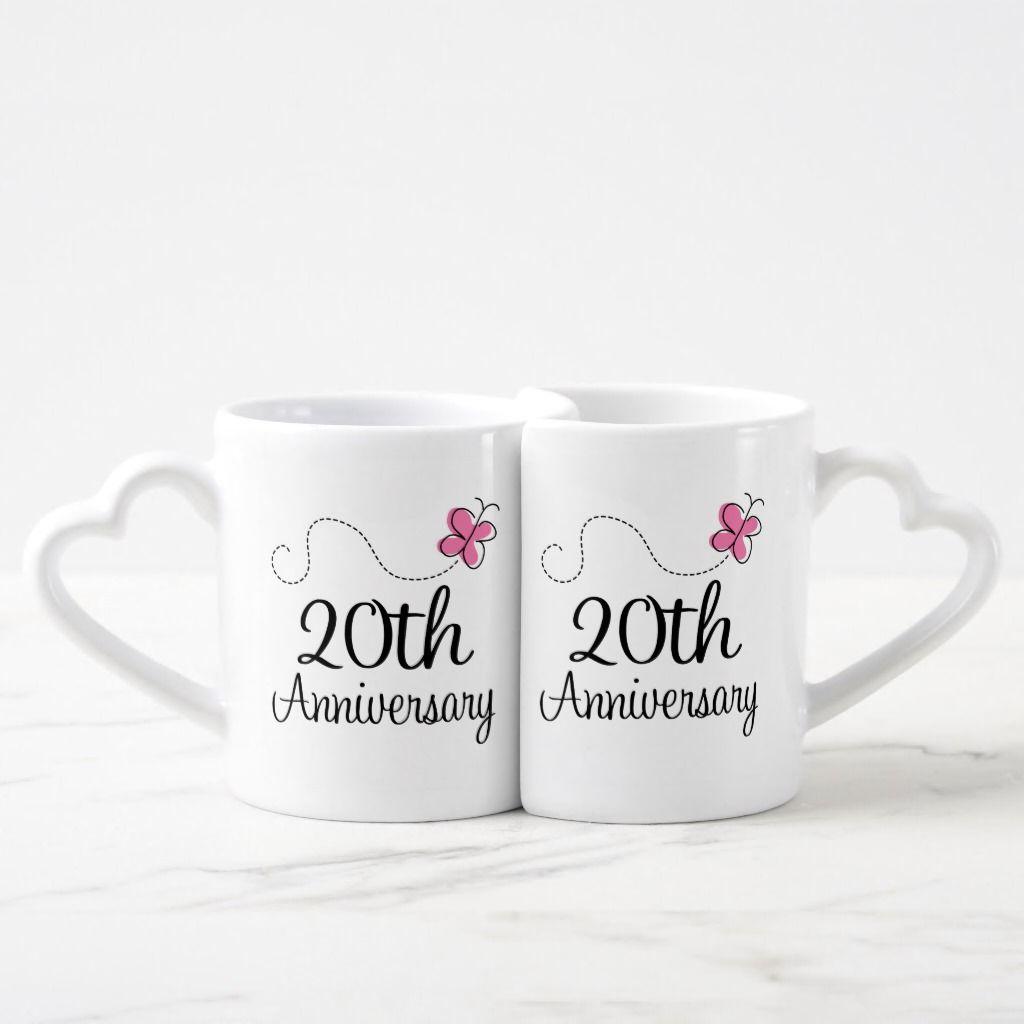 20th anniversary couples mugs couple mugs anniversary