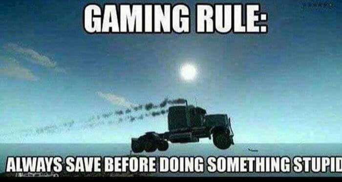 Pin By Gigi On Gamer Humor Gamer Humor Gaming Rules Video Game Memes
