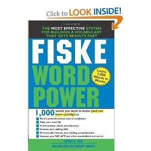 Fiske Word Power: At least a 1,000 words that are sorted by meaning and theme
