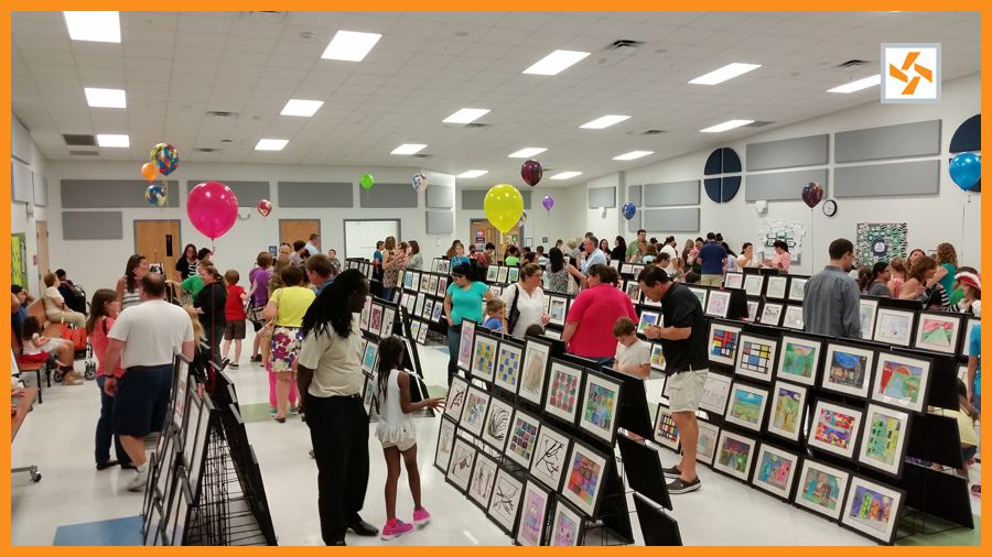 Art Shows by Artome Elementary art, Elementary school