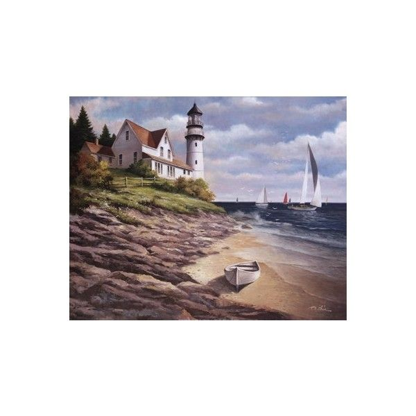 T.C. Chiu   Lighthouse I   Art Prints And Fine Art Posters ❤ Liked On  Polyvore · Lighthouse ArtHome Decor ...