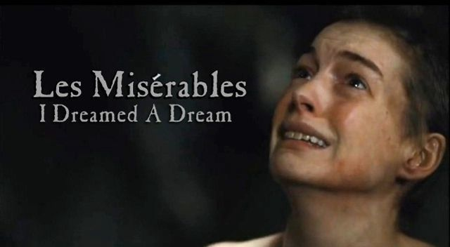 Les Miserables I Dreamed A Dream Anne Hathaway On Vimeo Les
