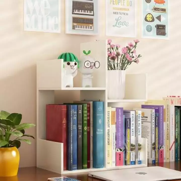 Table Top Mini Book Rack Book Shelf Lazada Small Bookshelf Mini Bookshelf Shelves