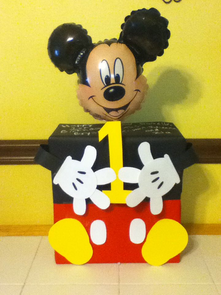 Mickey Mouse Gift Wrapped Pinspired Pinterest Gift Wrapping