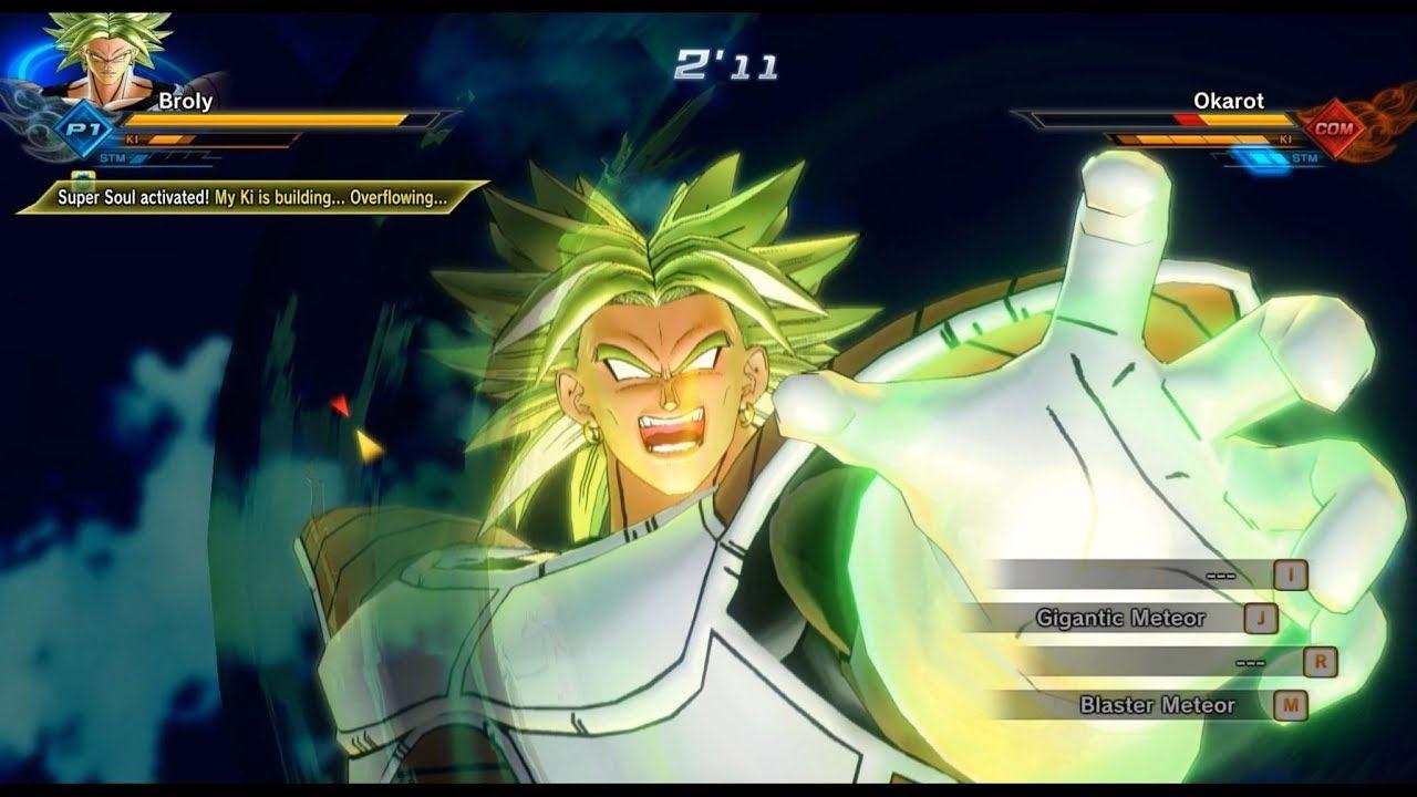 Dragon Ball Xenoverse 2 Armored Lssj Broly Mod Gameplay | dragon